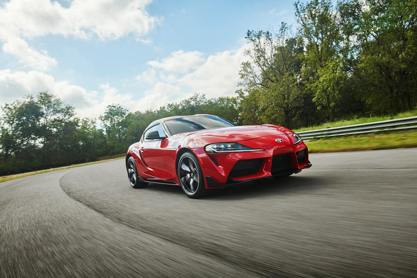 2020 Toyota GR Supra Coupe Front View