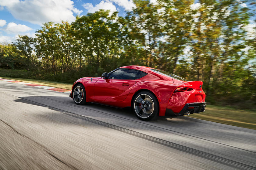 2020 Toyota GR Supra Coupe Rear View