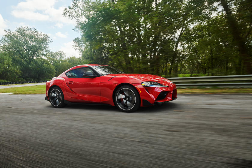 2020 Toyota GR Supra Coupe Side view