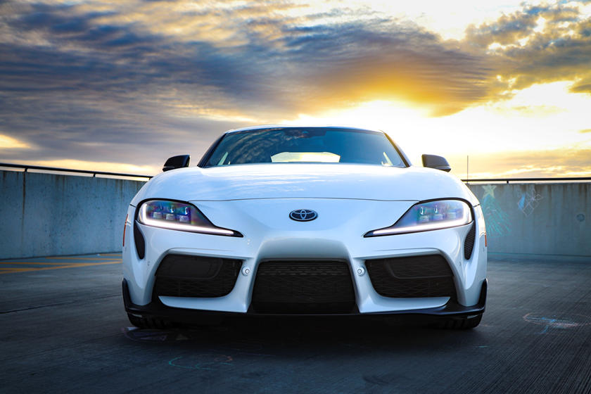2021 Toyota GR Supra Coupe front view
