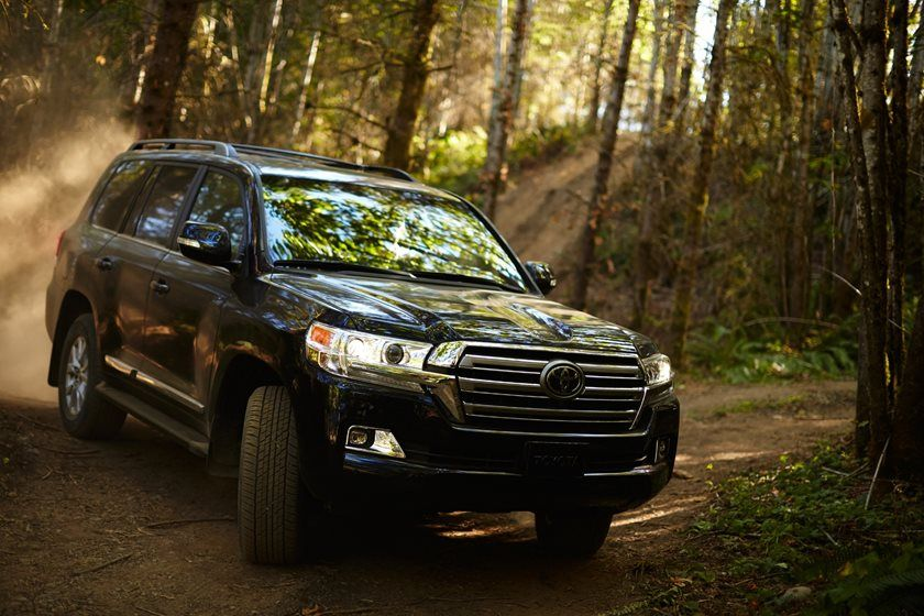 2020 Toyota Land Cruiser SUV Front View