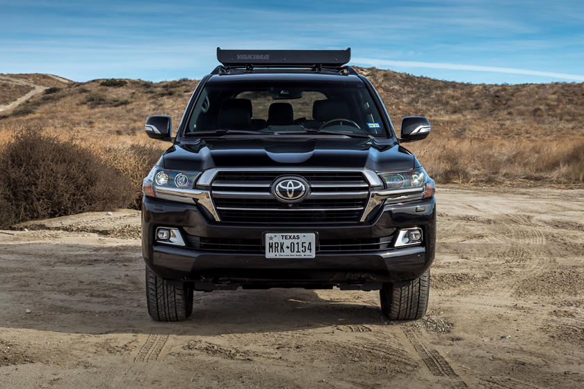 2021 Toyota Land Cruiser SUV front view