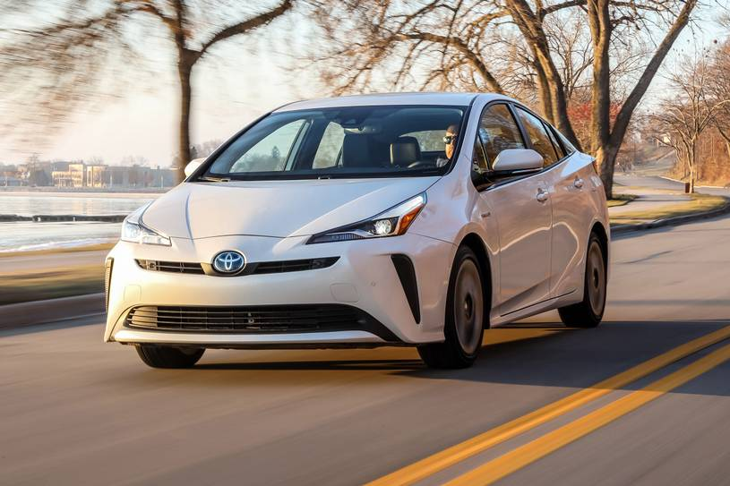2020 Toyota Prius hybrid Hatchback Front View