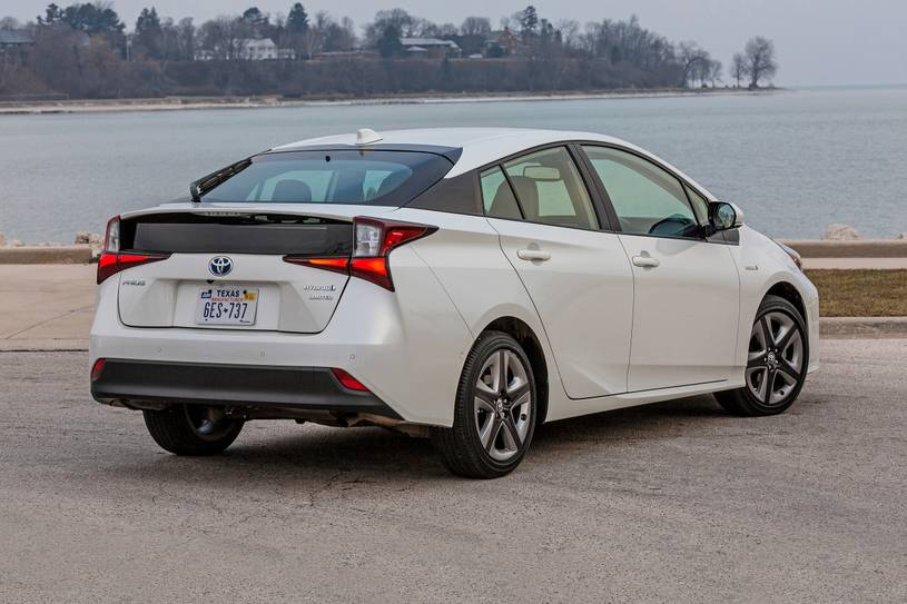 2020 Toyota Prius hybrid Hatchback Rear View