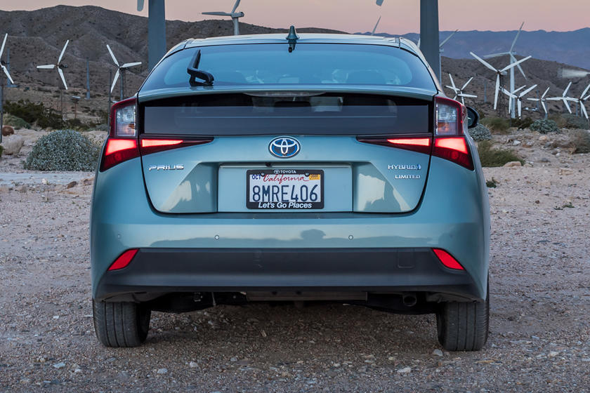 2021 Toyota Prius hybrid Hatchback Rear View
