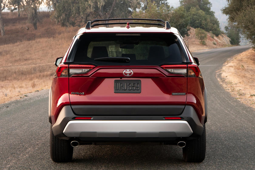 2020 Toyota RAV4 comes with LED Taillamps