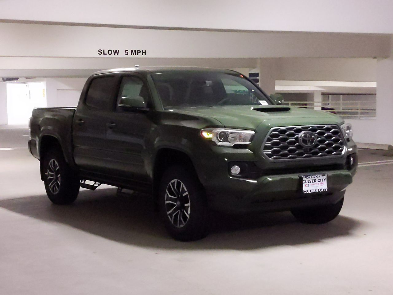 2020 Toyota Tacoma TRD Access Cab front angle view