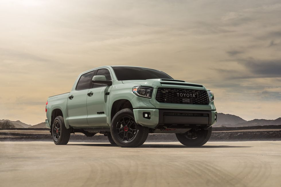 2021 Toyota Tacoma TRD Sport Access Cab front angle view