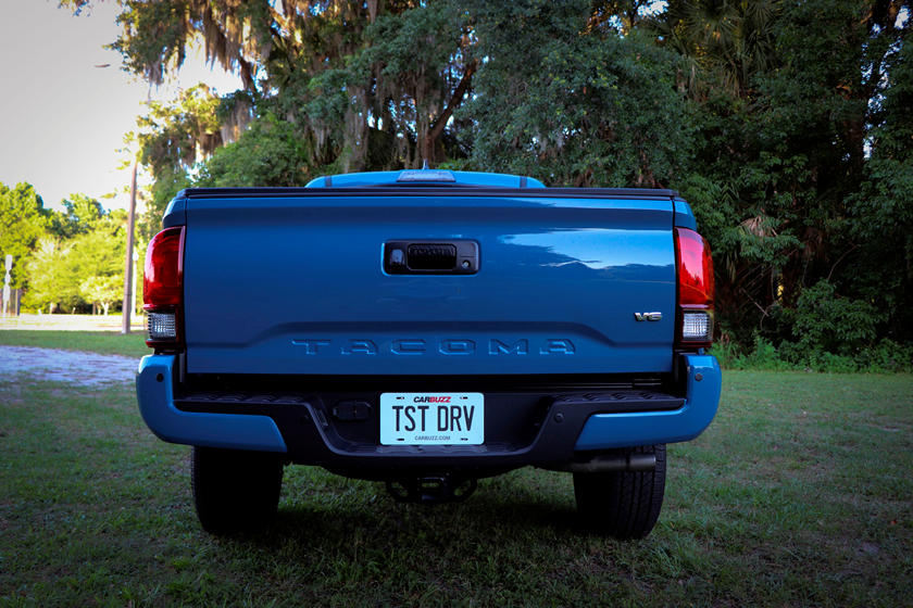 2021 Toyota Tacoma TRD Sport Double Cab rear view