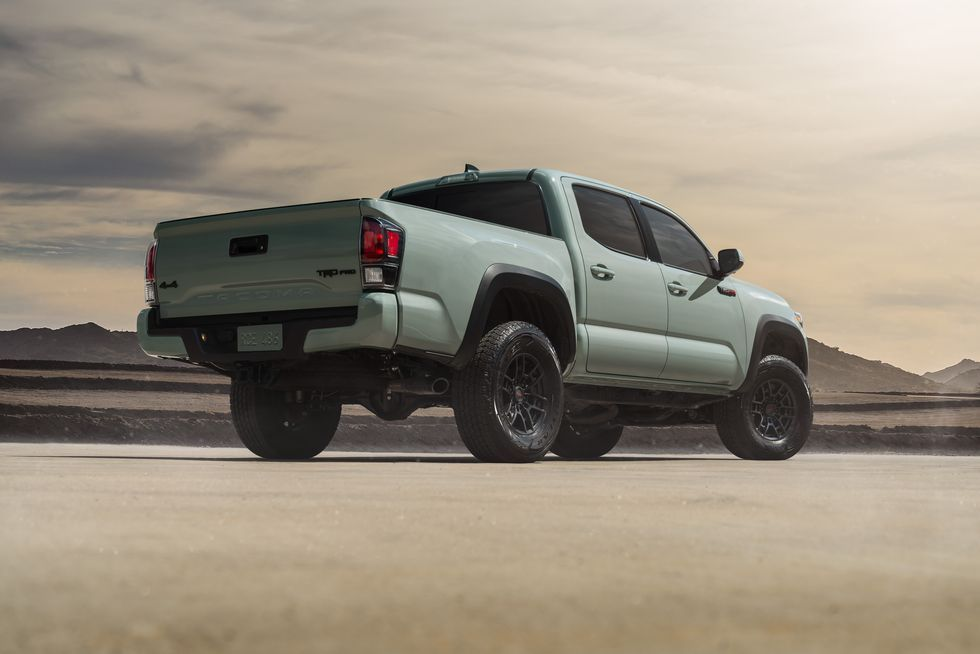 2021 Toyota Tacoma TRD Off-Road Double Cab rear angle view