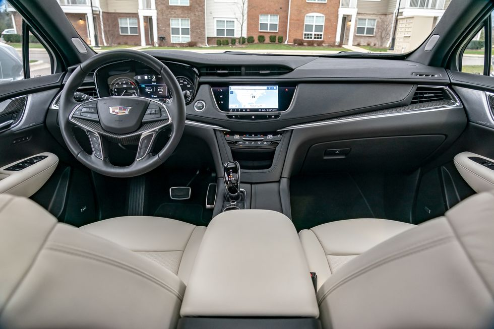 2021 Cadillac Xt5 Interior Review Seating Infotainment Dashboard And Features Carindigo Com
