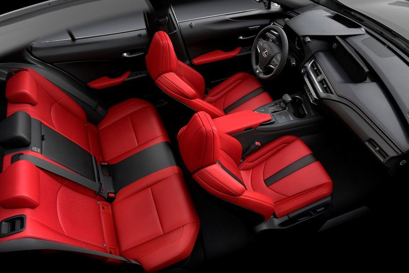 2020 Lexus UX 250h F Sport SUV Interior Review - Seating ...