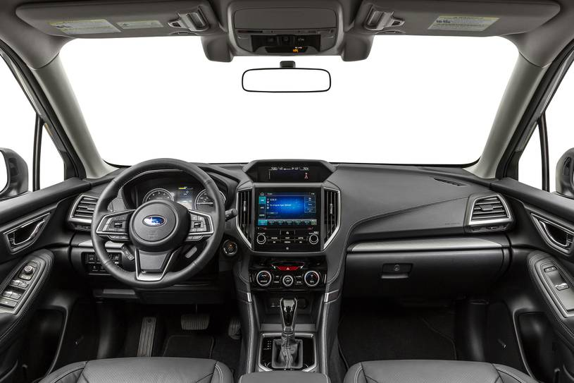 2020 Subaru Forester Interior Review Seating Infotainment Dashboard And Features Carindigo Com