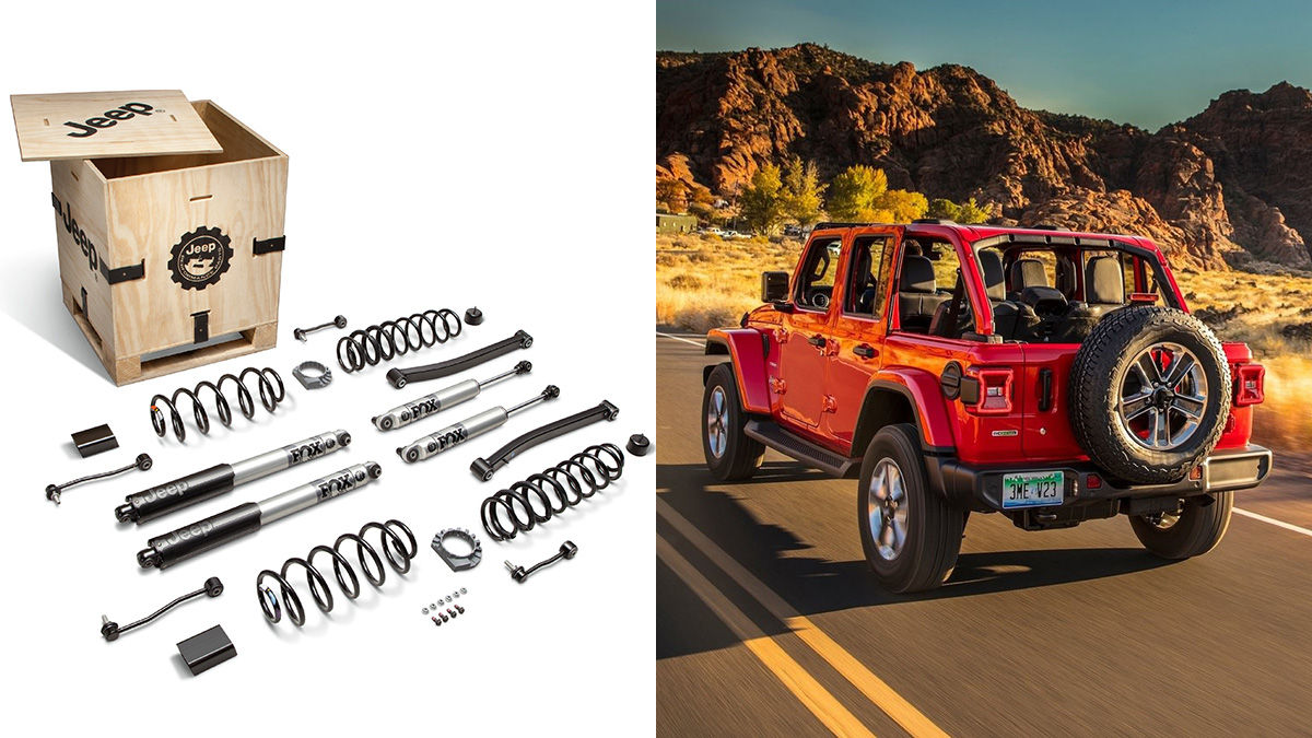 Jpp Lift Kit By Mopar For Jeep Wrangler Gladiator Ecodiesel Prices Upgrades And Other Changes