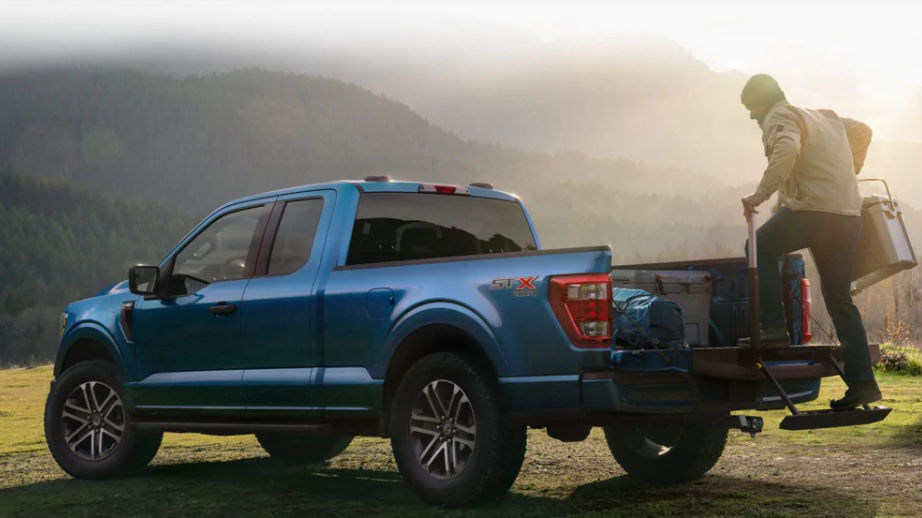 Redesigned 2021 Ford F-150