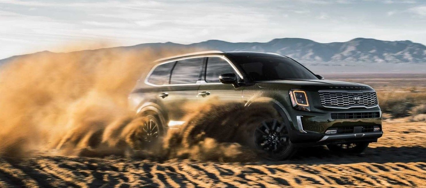 2020 Kia Telluride off road wallpaper