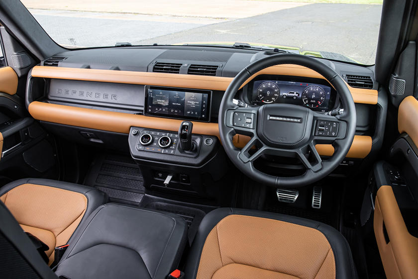 2021 Land Rover Defender 90 SUV Interior Review - Seating ...
