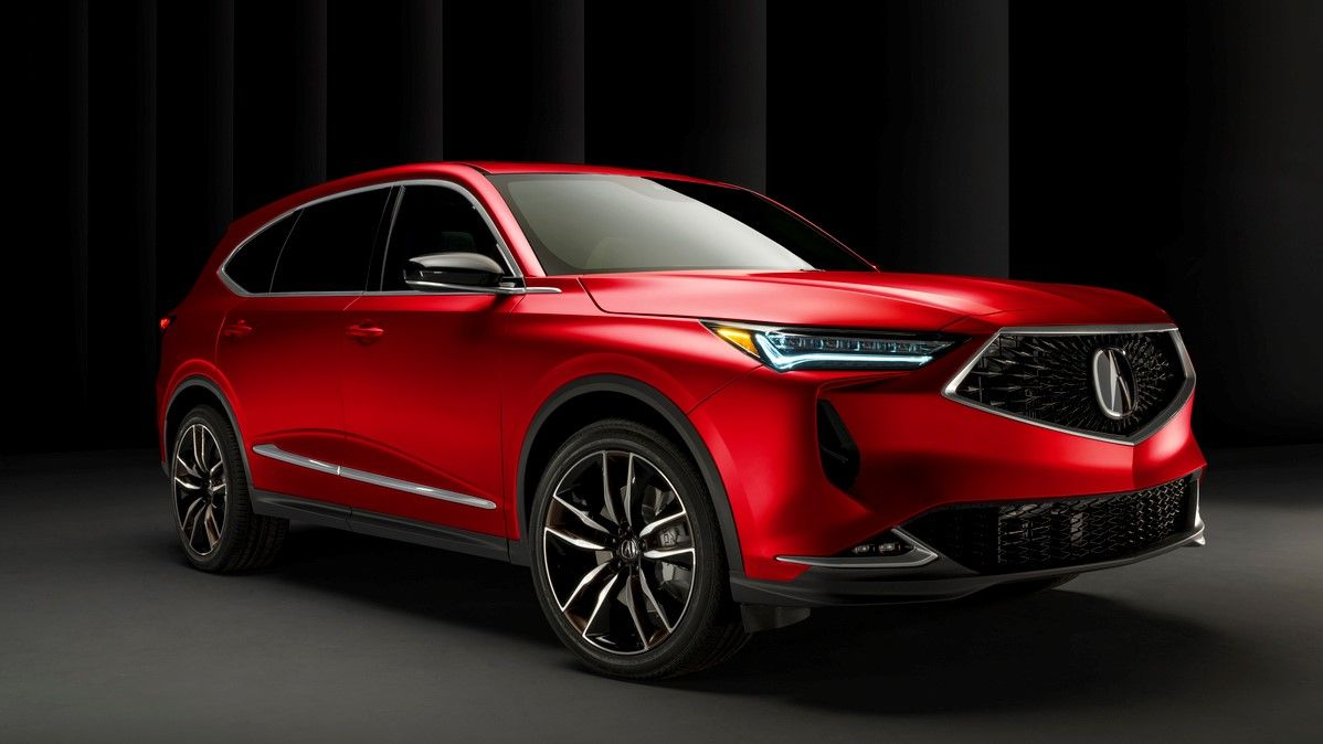2022 Acura Mdx Gallery Interior And Exterior Pictures Revealed