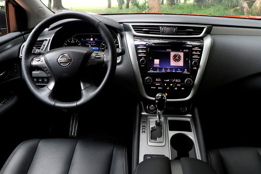 2020 Nissan Murano Interior Review - Seating, Infotainment ...