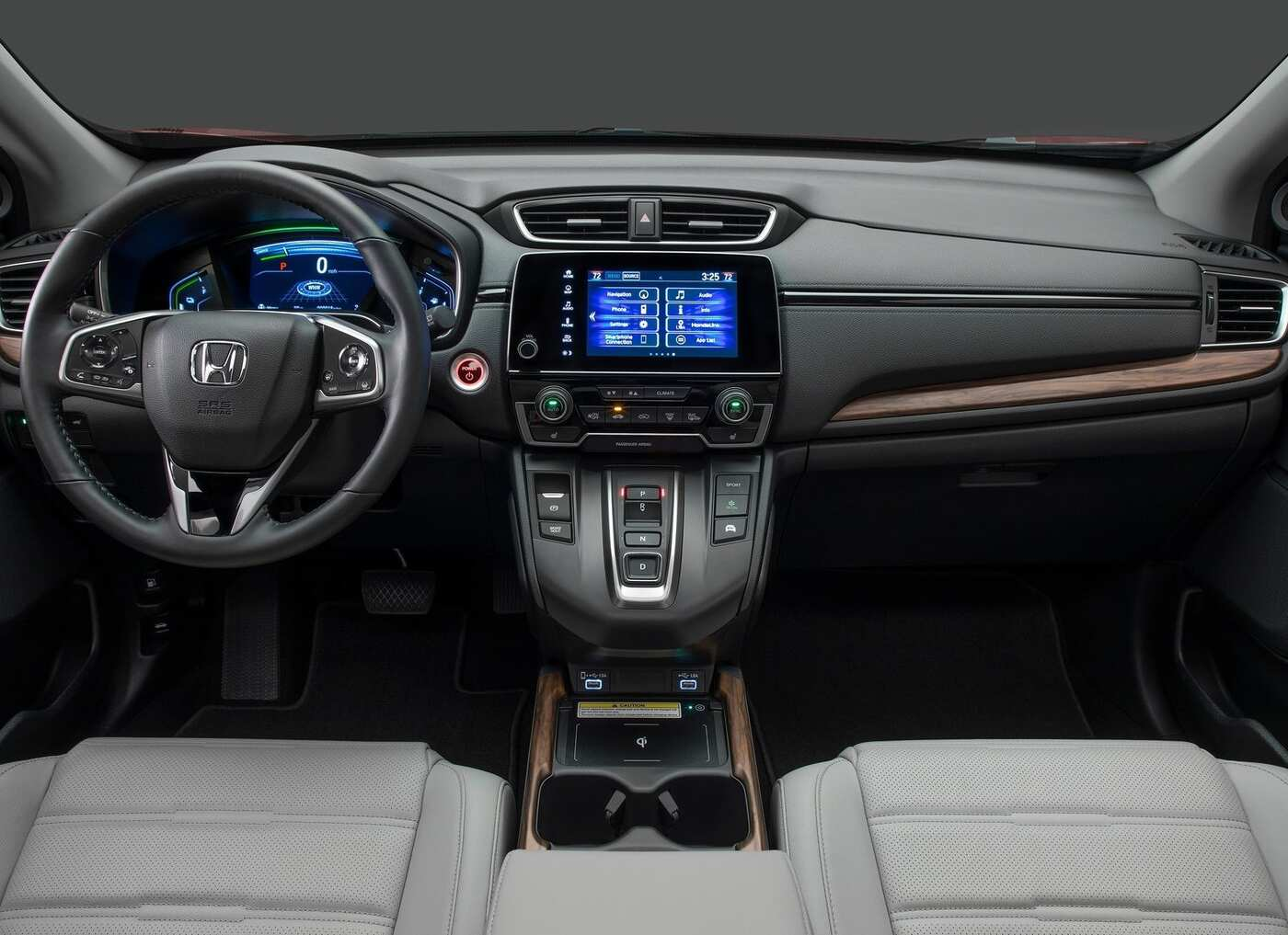 Honda Crv Cargo Space >> 2020 Honda CR-V Interior Review - Seating, Infotainment ...