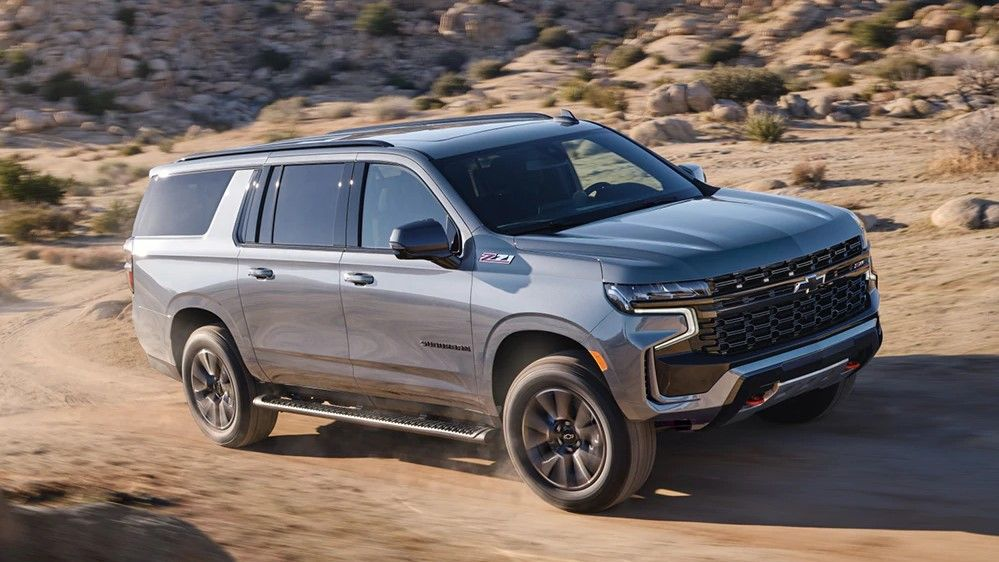 2021 Chevrolet Suburban Review: Trims, Prices, Towing ...