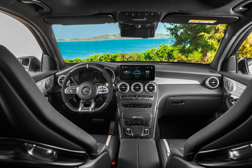 2021 Mercedes-Benz AMG GLC 63 SUV dashboard