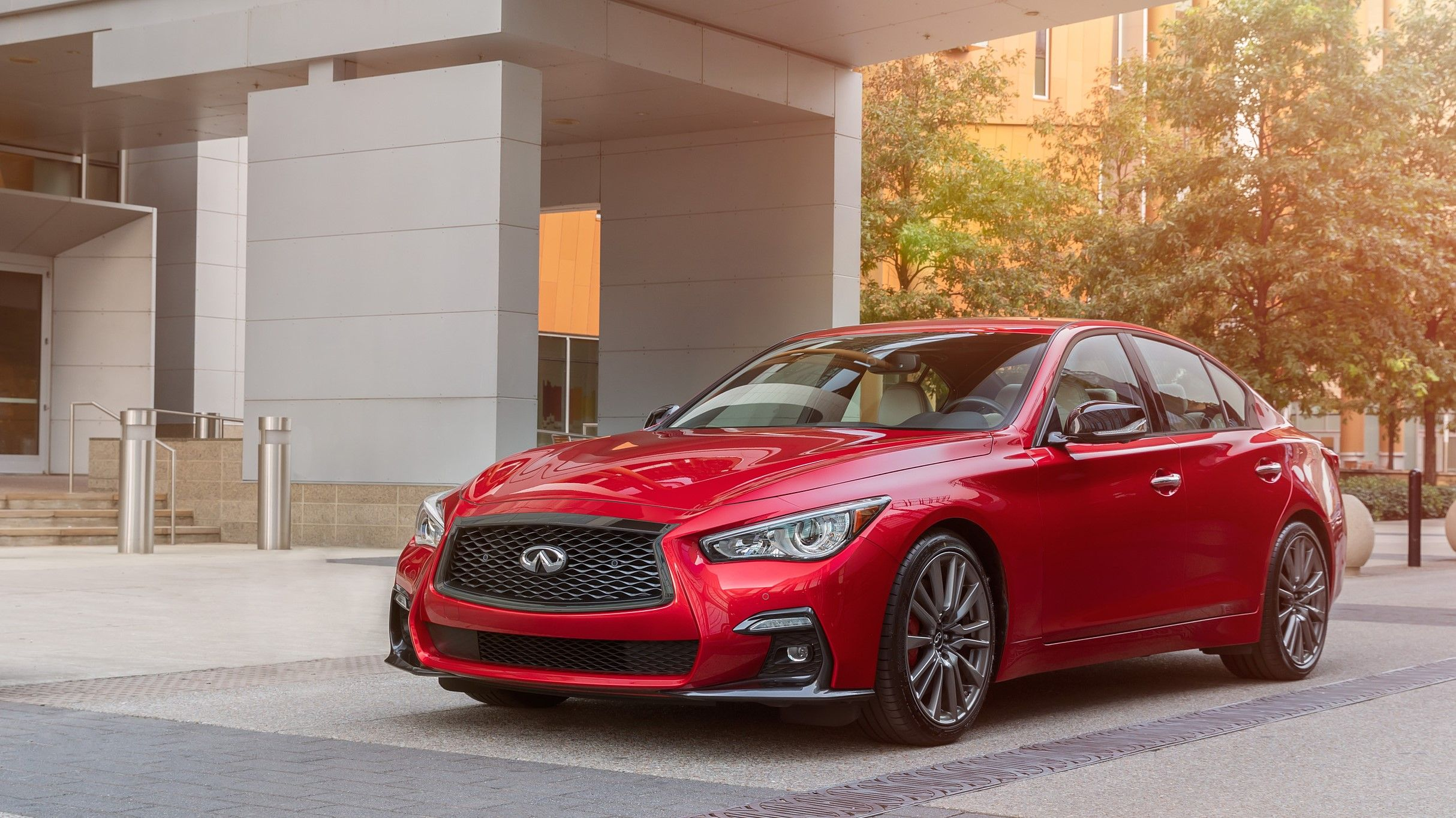 2021 Infiniti Q50 Red Sport Review Price Release Date Engine 0 60 Specs Interior And Rivals