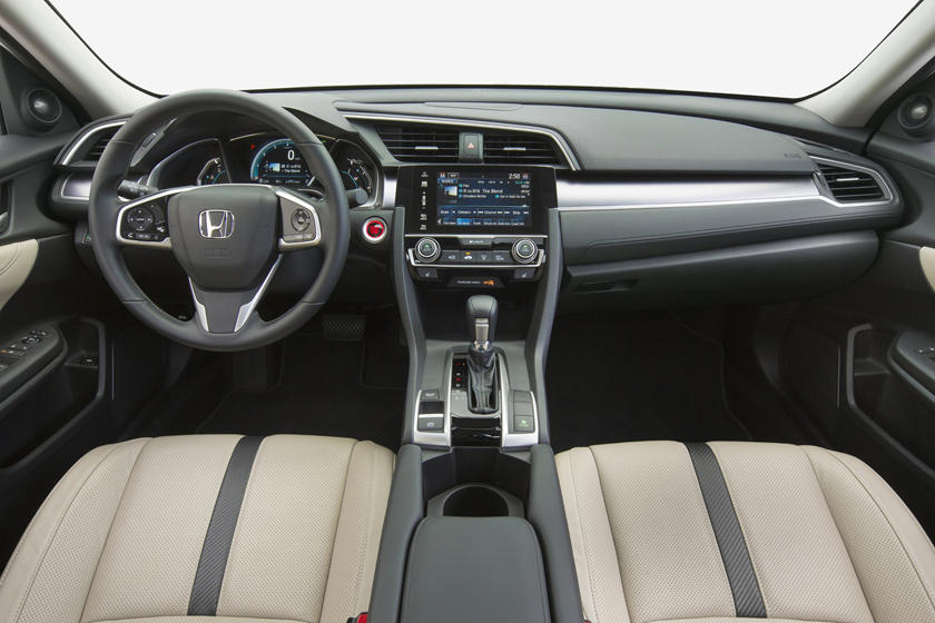 2020 honda civic interior review seating infotainment dashboard and features carindigo com 2020 honda civic interior review