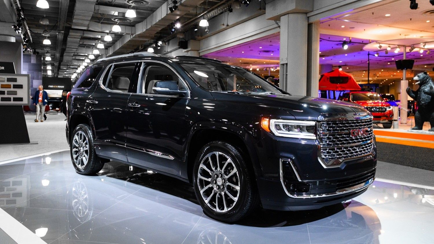2021 Gmc Acadia Denali Review Pricing Performance Interior Mpg