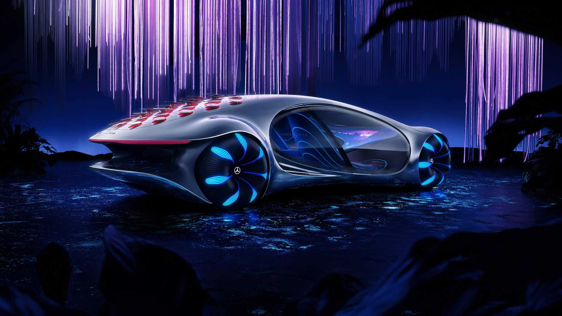 ces mercedes benz showcases  concept vision