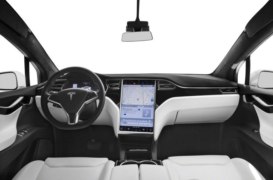 2020 Tesla Model X Electric Interior Review Seating Infotainment Dashboard And Features Carindigo Com