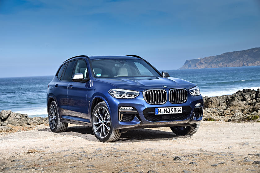 2021 BMW X3 third quarter view