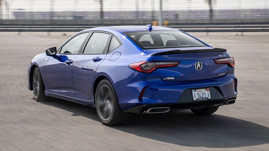 2021 acura tlx a-spec - review - price, features, cargo