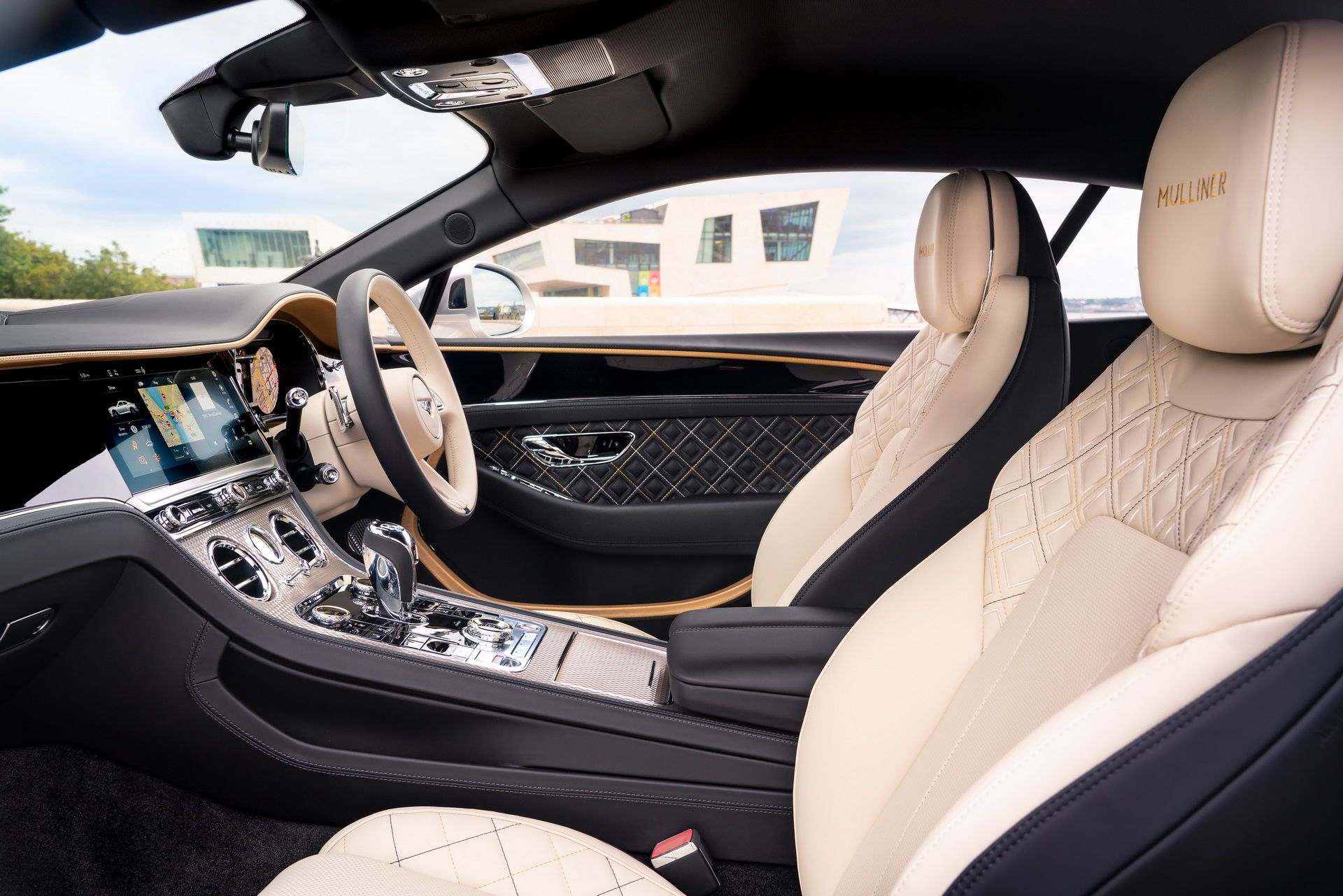 2021 Bentley Continental GT Mulliner Coupe Front Seats