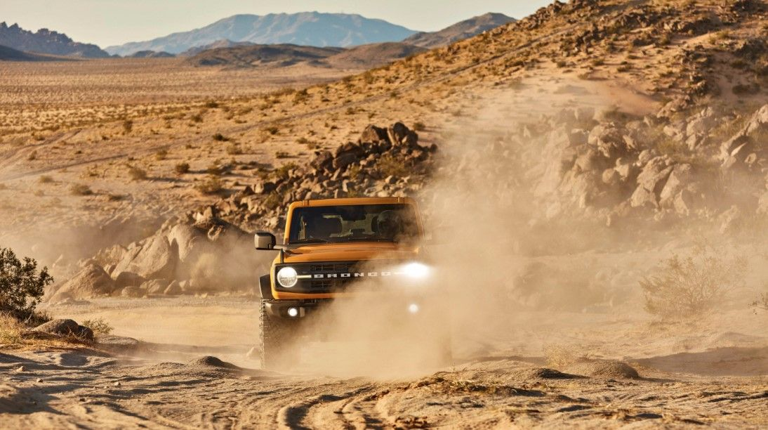2021 ford bronco 2 door sand mode