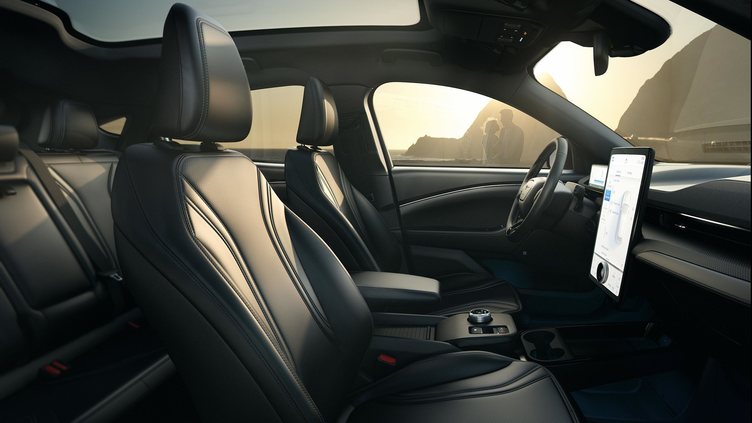 2021 ford mustang mach e interior seating 1