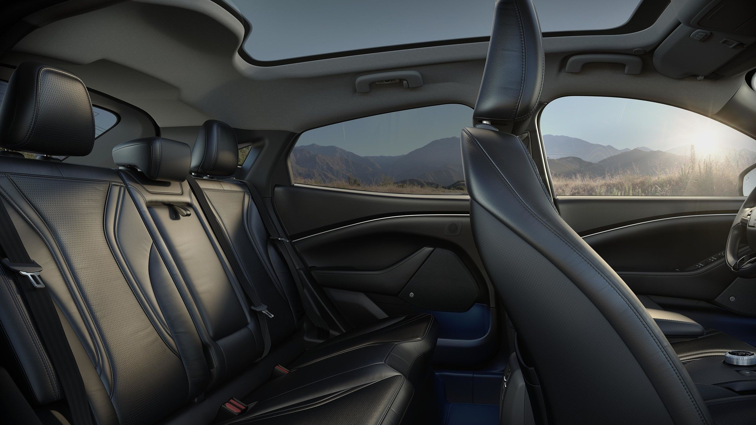 2021 ford mustang mach e interior seating 2