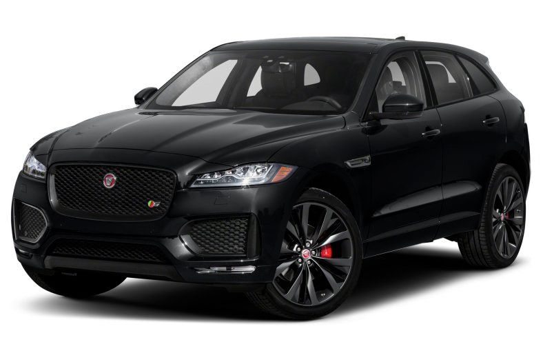2021 Jaguar F-Pace S three quarter view