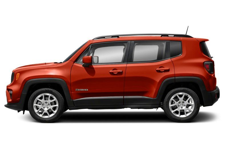 2021 Jeep Renegade Latitude Review left side view