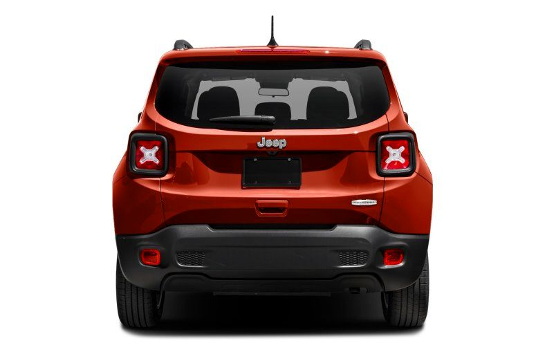 2021 Jeep Renegade Latitude Review rear view