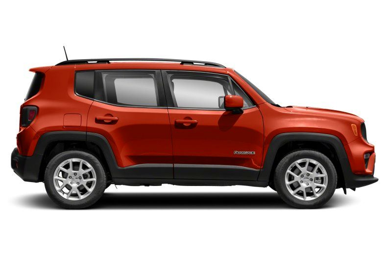2021 Jeep Renegade Latitude Review right side view