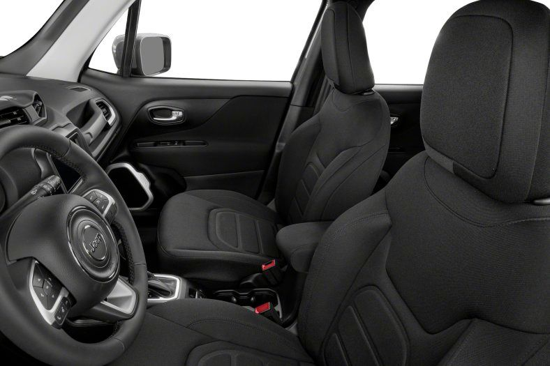 2021 Jeep Renegade Latitude Review front seats