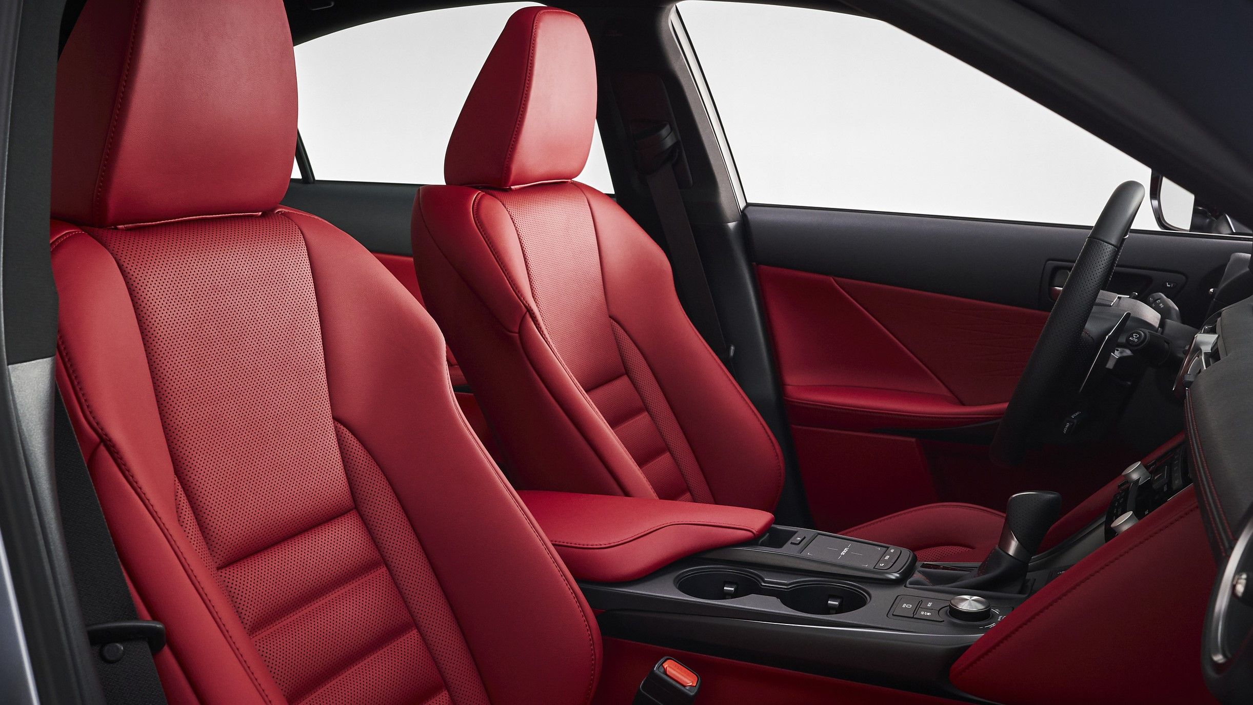 2021 lexus is 350 interior first row seating