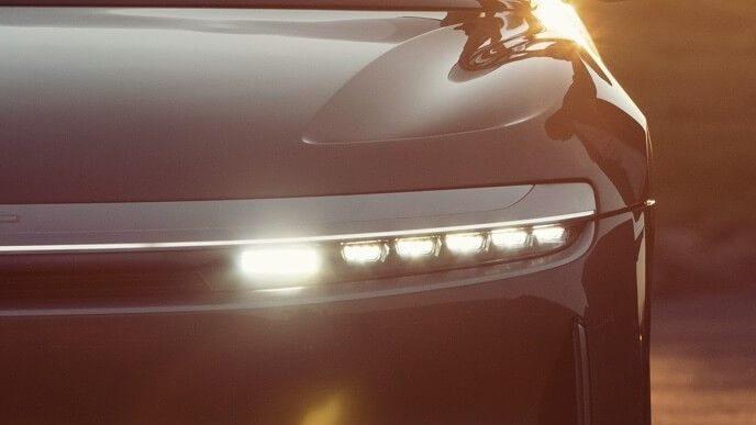 2021 Lucid Air Sedan Headlight