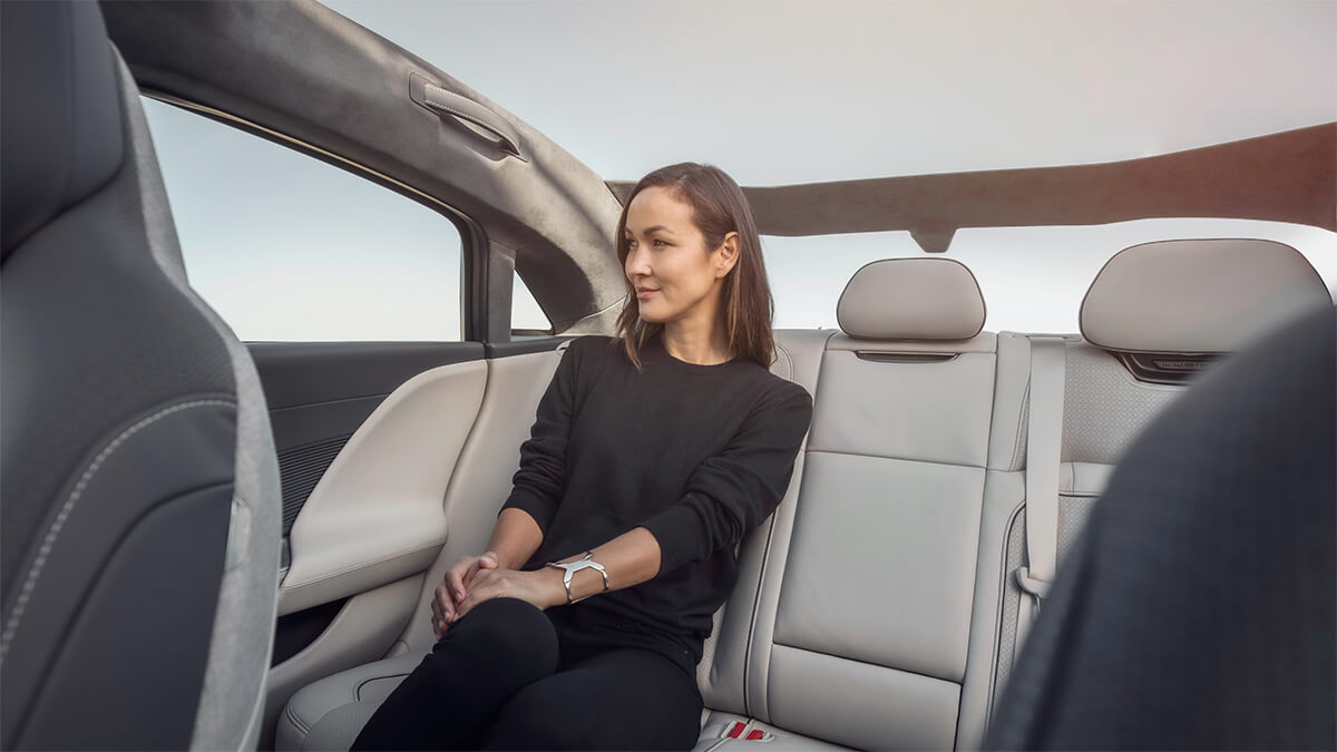 2021 Lucid Air Sedan Rear Seats