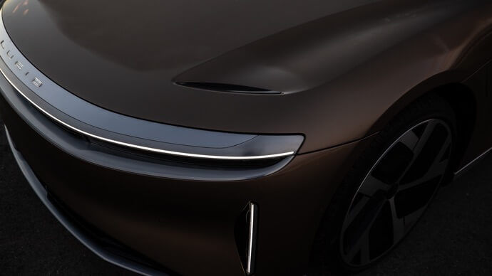 2021 Lucid Air Sedan Badge