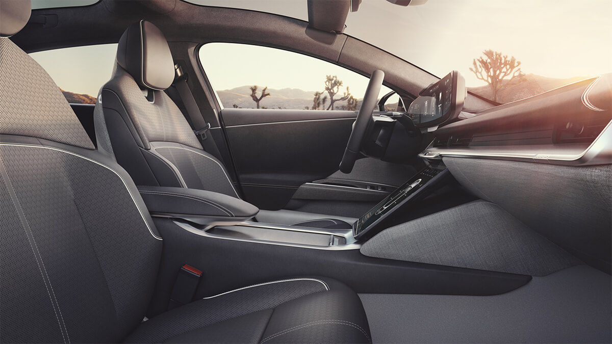 2021 Lucid Air Sedan Front Seats