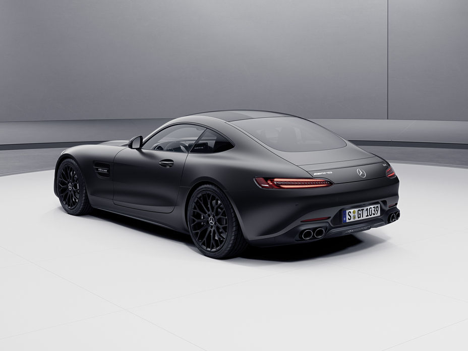 2021 Mercedes-AMG GT Rear View