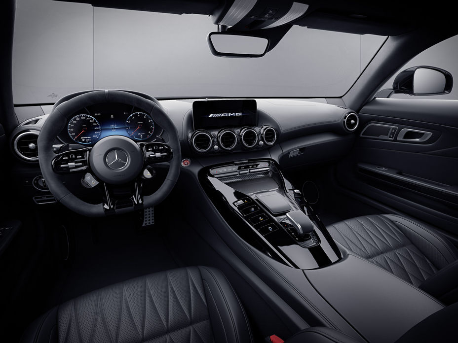 2021 Mercedes-AMG GT Dashboard