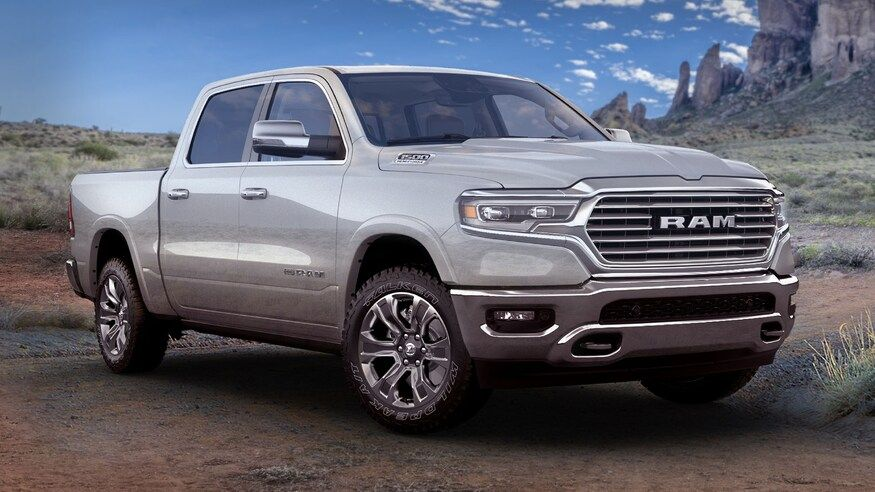 2021 Ram 1500 Limited Longhorn 10th Anniversary Edition Front View